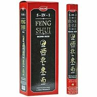 Hem Feng Shui 5-in-1 Incense, 120 Stick Box