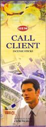 Hem Call Client Incense, 120 Stick Box