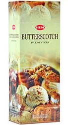 Hem Butterscotch Incense, 120 Stick Box