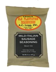 A.C. Legg INC Mild Italian Sausage Seasoning, 8 ounce