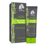 Madina Bamboo Charcoal Mask, Deep Cleansing For Face Nose Acne, 3.38 oz