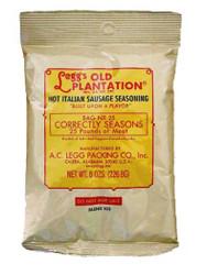 A.C. Legg INC Hot Italian Sausage Seasoning, 8 ounce