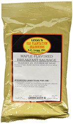A.C. Legg INC Maple Flavored Breakfast Sausage, 10 ounces