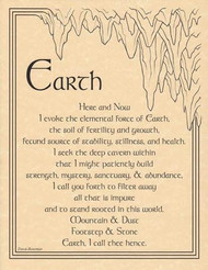 Earth Invocation poster