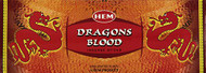 Hem Dragons Blood Red Incense, 120 Stick Box