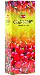Hem Cranberry Incense, 120 Stick Box