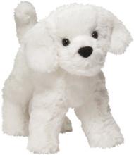 "Plush Dog Stuffed Animal Dandelion Puff Bichon 8"""