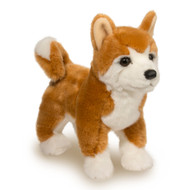 Douglas Cuddle Toys Dunham Shiba Inu Plush Stuffed Animal # 2049