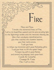 1 X Fire Invocation poster