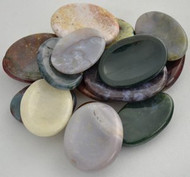 Jasper Worry Stone - Various Colors & Patterns