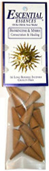 Escential Essences Cone Incense - Frankincense and Myrrh - 16 Cone Package