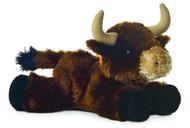 """8"""" Brown Toro Plush Toy Animal"""