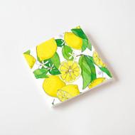 """One Hundred 80 Degrees Lemons Napkin, 20/Pk, Paper, 6.5"""""""
