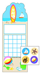Surf's Up Incentive Sticker Set