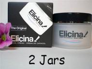 2 Jars Elicina Original Cream
