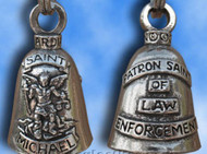 Saint Michael Guardian Bell Lucky Charm Pendant For Motorcycles