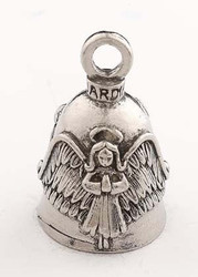 Praying Angel w/ Halo Wings Guardian Bell Motorcycle - Harley Accessory HD Gremlin NEW Riding Bell Key Ring