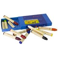Stockmar Beeswax Stick Crayons, Set of 12, Box