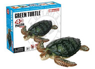 Constructive Playthings 4D Puzzle - Green Turtle