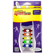 RCS Gifts Jazzy Sport Laces, Rainbow
