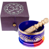 The New Age Source Chakra Singing Bowl Purple Crown