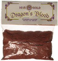1 oz Dragons Blood Powder Incense 1618 gold