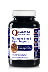 Quantum Blood Sugar Support, 60 Vegetarian Capsules - Quantum-State Pancreas, Digestion and Healthy Blood Sugar Support