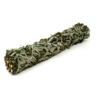 Black Sage (Mugwort) - Small Smudge Wand by New Age, (HRB29)