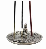Tibetan Buddha Aluminum Incense Burner