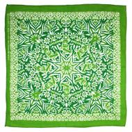 Sunshine Joy Grateful Dead Dancing Bear Mandala Bandana Green