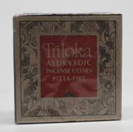 Pitta Fire (Red) Cones - Triloka Ayurvedic Meditation Incense