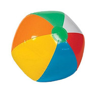 """Inflatable 12"""" Rainbow Color Beach Balls (36 Pack) - Colors Varied"""