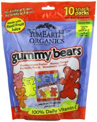 YumEarth Organic Gummy Bears, 10 Count