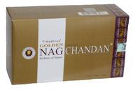 Golden Nag Chandan Masala Agarbathi Incense Sticks 180 grams