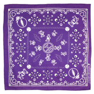Sunshine Joy Good Ol' Grateful Dead Bandana Purple