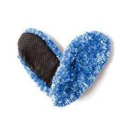 Fuzzy Footies Women's Slip Resistant Slippers (Blue/Teal)