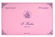 Herbin 10 Pink Blotter Sheets - 4 3/4 x 6 1/3