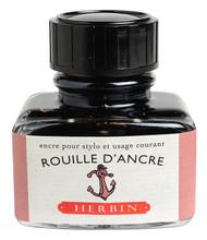 Herbin Fountain Pen Ink - 30ml Bottle - Rouille d'Ancre