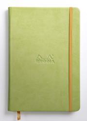Rhodia Rhodiarama A5 Webnotebook, 5.5 in x 8.25, Lined - Anise (118746)