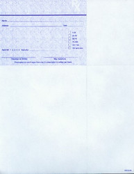 SECUREGUARD PRESCRIPTION PAPER FOR INDIANA - 500 sheets