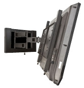 "HEAVY DUTY LARGE FLAT PANEL TV MOUNT - DOUBLE ARTICULATING ARM - 50"" and Larger (400 x 400 VESA)"