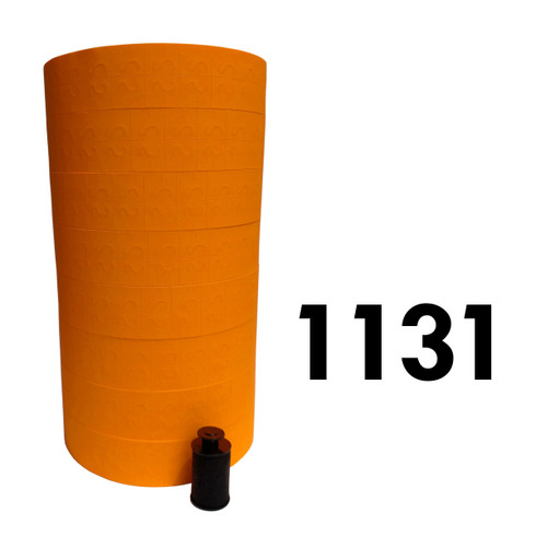 Orange labels for Monarch 1131 price gun