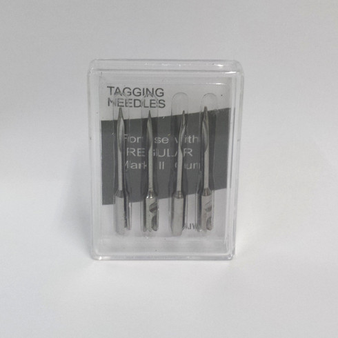 Steel tag geun replacement needles
