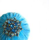 Aqua Emery Pincushions for Sale / Emery Pin Cushion