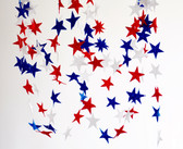 Fourth of July Felt Garland