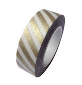 Golden Stripes Washi Tape - 15 m
