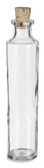 Corked Cylinder Glass Bottle - 4 oz