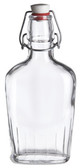 Bormioli Rocco Fiaschetta Glass 8.5 oz (250 ml) Pocket Glass Flask Botle