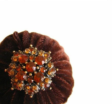 Velvet Chocolate Pincushions for Sale