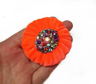 Orange Emery Pincushions for Sale